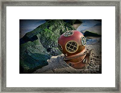 Lost At Sea Framed Print by Paul Ward