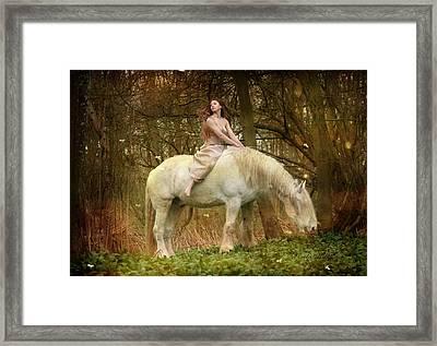 Lost Elves 1 Framed Print by Dorota Kudyba