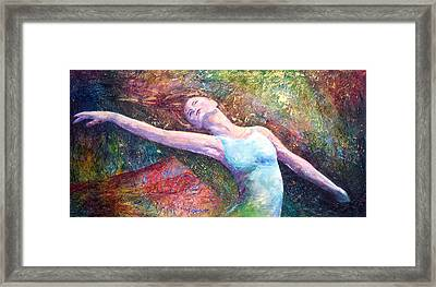 Lost In Dance  Framed Print by David  Maynard