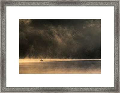 Lost In Space Framed Print by Izabela Laszewska-mitrega