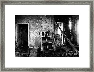 Lost In Time 11 Framed Print by Bob Christopher