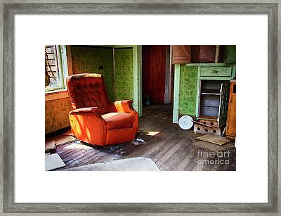 Lost In Time 13 Framed Print by Bob Christopher