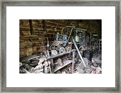 Lost In Time 16 Framed Print by Bob Christopher