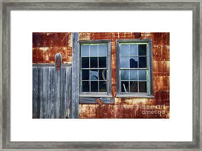 Lost In Time 17 Framed Print by Bob Christopher