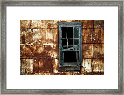 Lost In Time 20 Framed Print by Bob Christopher