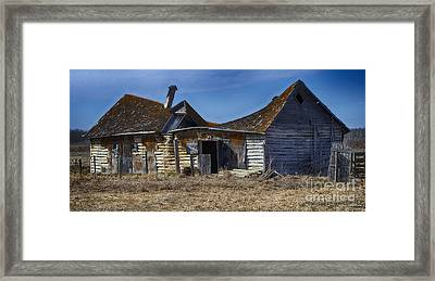 Lost In Time 9 Framed Print by Bob Christopher
