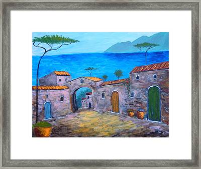 Lost In Time Framed Print by Larry Cirigliano