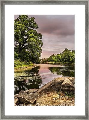 Lost Lake II Framed Print by Tamyra Ayles