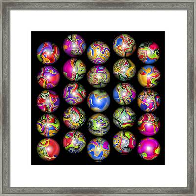 Lost My Marbles 2 Framed Print by Wendy J St Christopher