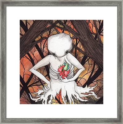Lost Soul Framed Print by Julie McDoniel