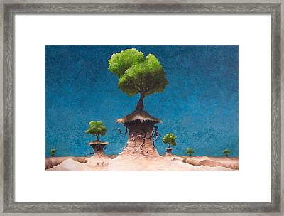 Lost Void Framed Print by Ethan Harris
