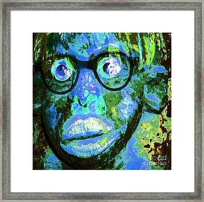 Lost Without Christ Framed Print by Fania Simon
