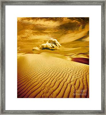 Lost Worlds Framed Print by Jacky Gerritsen