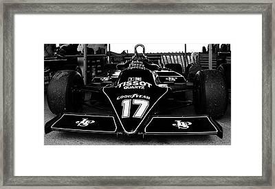 Lotus Cosworth 87b Framed Print by Robert Phelan