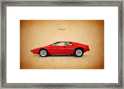 Lotus Esprit Framed Print by Mark Rogan