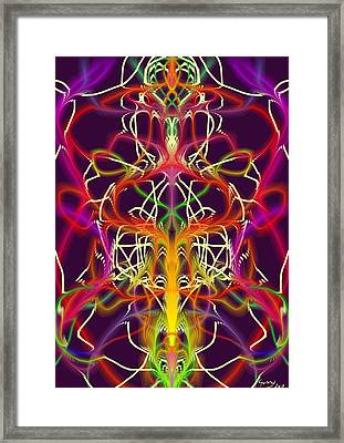 Lotus II Framed Print by Gunny Norddahl
