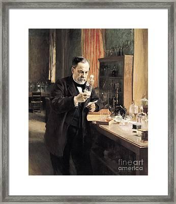 Louis Pasteur Framed Print by Albert Gustaf Aristides Edelfelt