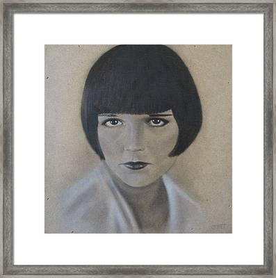 Louise Framed Print by Lynet McDonald