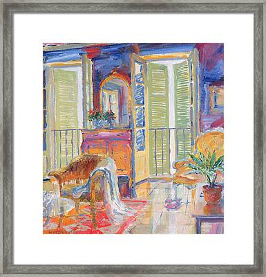 Louise Framed Print by William Ireland