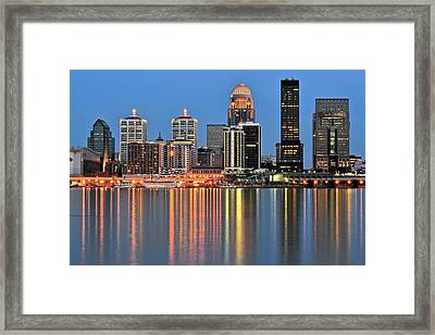 Louisville Close Up Framed Print by Frozen in Time Fine Art Photography