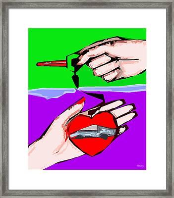 Love Affair Framed Print by Patrick J Murphy