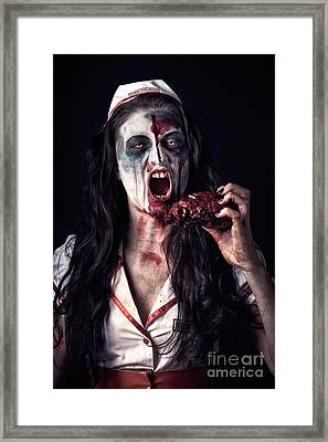 Love At First Bite Framed Print by Jorgo Photography - Wall Art Gallery