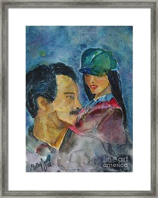 Love At First Sight Framed Print by Shelley Jones