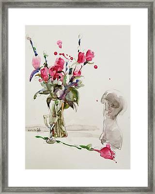 Love Framed Print by Becky Kim