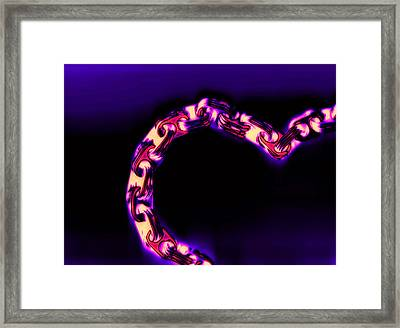 Love Glows Strong Framed Print by Dolly Mohr