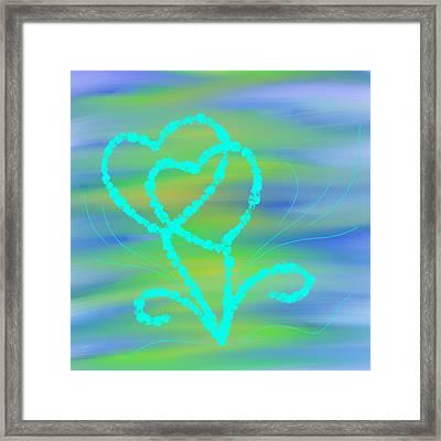Love Inspires Framed Print by Pratyasha Nithin