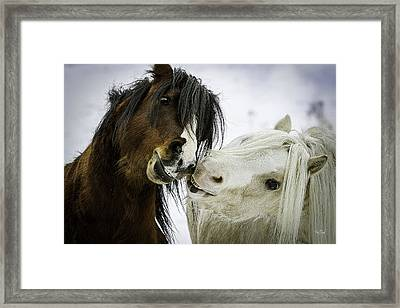 Love Is Bliss Framed Print by Everet Regal