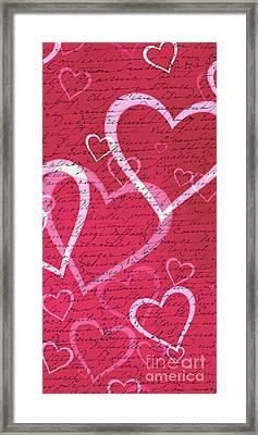 Love Letters Case Framed Print by Edward Fielding