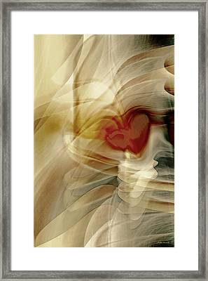 Love  Framed Print by Linda Sannuti