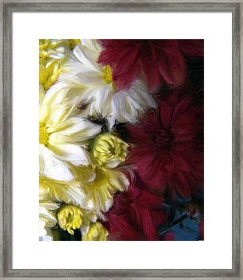 Love Me Framed Print by Evelyn Patrick