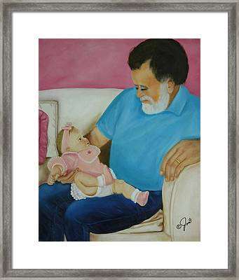 Love  Passed On Through The Years Framed Print by Joni McPherson