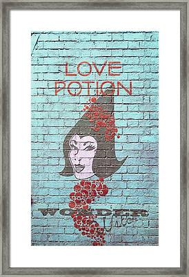 Love Potion Framed Print by Laurie Perry