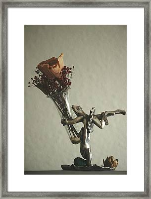 Love Ring Framed Print by Holly Ethan
