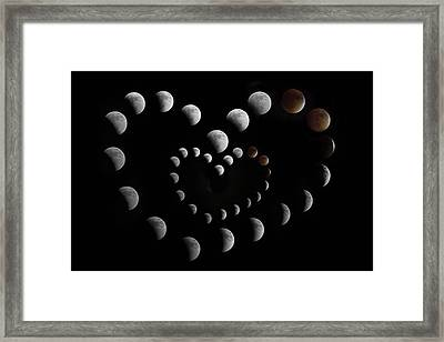 Love You To The Moon And Back II Framed Print by Betsy C Knapp