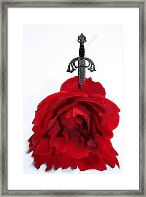 Loveless Framed Print by Angel Jesus De la Fuente