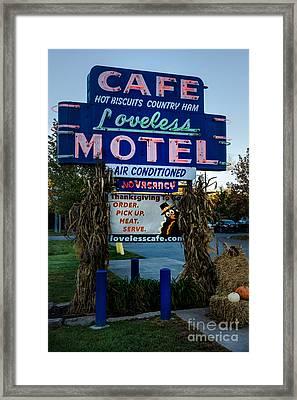 Loveless Cafe - Nashville Tennessee Framed Print by Debra Martz