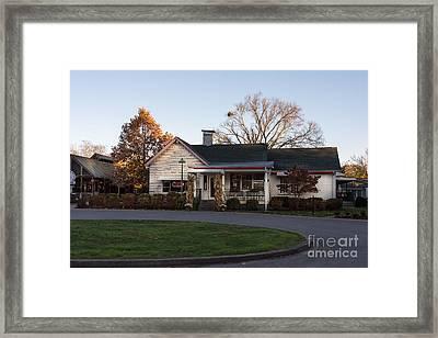 Loveless Cafe Of Nashville, Tennessee Framed Print by Debra Martz