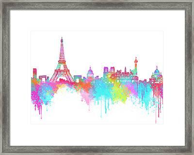 Lovely Paris  Framed Print by Prar Kulasekara