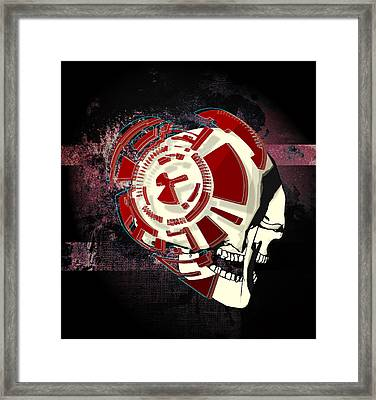 Love's In The Back Of The Mind Framed Print by Jesse Cooper