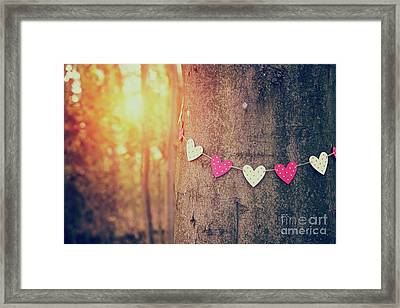 Loving Nature Framed Print by Tim Gainey