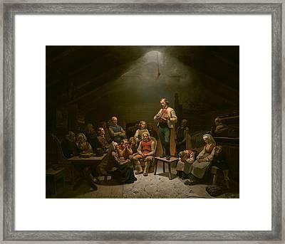 Low Church Devotion Framed Print by Mountain Dreams