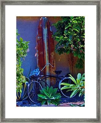 Low Tide Framed Print by Helen Carson