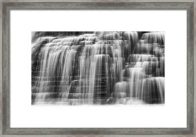Lower Falls Cascade Framed Print by Stephen Stookey