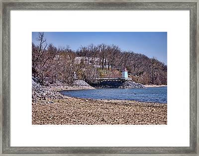 Lowtide Near Lighthouse Landing On Kentucky Lake Framed Print by Greg Jackson
