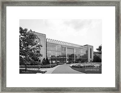 Loyola University Klarchek Commons Framed Print by University Icons