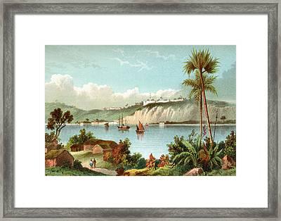 Luanda, Formerly Named S Framed Print by Vintage Design Pics